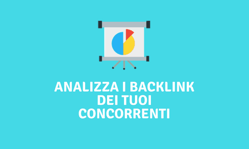 Analisi backlink concorrenti
