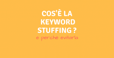 Che cos'`e la Keyword Stuffing