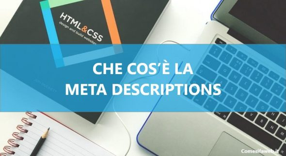 cos'`e la meta description